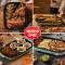 小熊电烤炉家用无烟烧烤韩式烤肉盘 电烤盘烤肉锅烧烤炉铁板烧盘